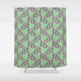 Deer slime Shower Curtain