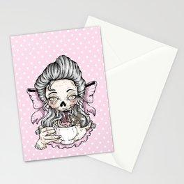 Zombie Tea Stationery Cards