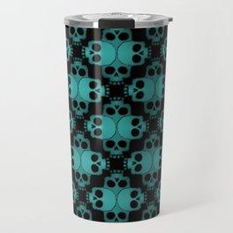 Cool Skull Jigsaw Travel Mug
