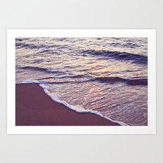 Morning Waves Art Print