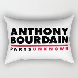 ANTHONY BOURDAIN - PARTS UNKNOWN Rectangular Pillow