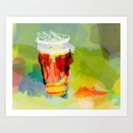 Draft IPA, 99pts Art Print