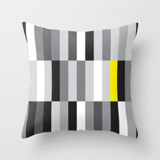 Monochrome Sequence Cheat Throw Pillow