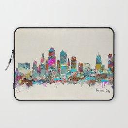 kansas city Missouri skyline Laptop Sleeve