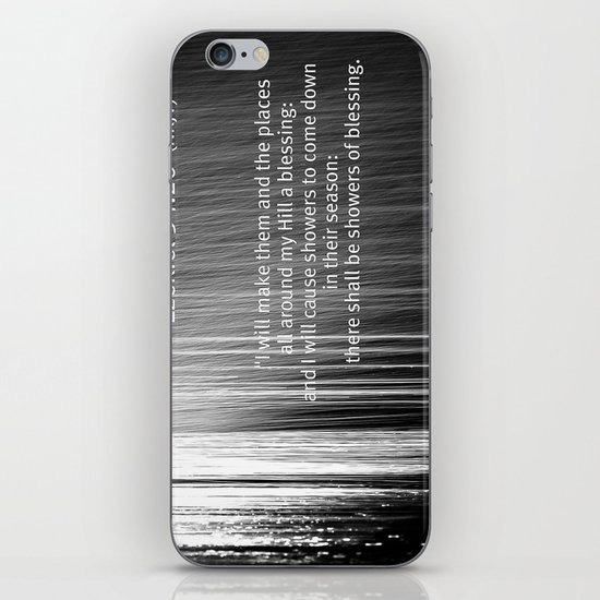 Showers of Blessings iPhone Skin