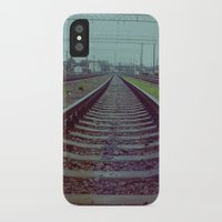 russia iPhone & iPod Cases featuring Railroad. Russia. by Slava Joukoff