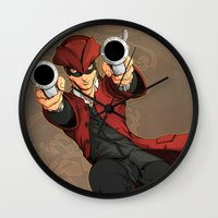 dick Wall Clocks featuring Dick Turpin by Eco Comics