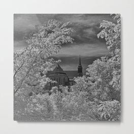 Infrared Sherbrooke Metal Print