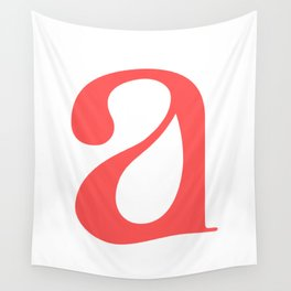 lowercase a Wall Tapestry
