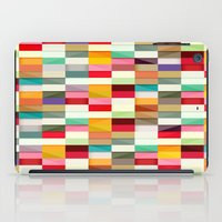 stripes iPad Cases featuring Stripes by Danny Ivan