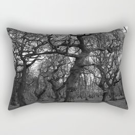 Oak Trees on the March Rectangular Pillow