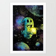 Space Ghost 4.0 Art Print