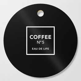 Black Coffee No5 Cutting Board
