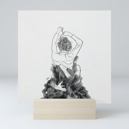 I want to know you little more deep. Mini Art Print