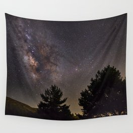 Milkyway at the mountains. Saggitarius Antares and Rho Ophiuchus Wall Tapestry