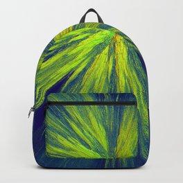 Green yellow splash Backpack