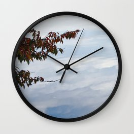 Cloud Reflections Wall Clock
