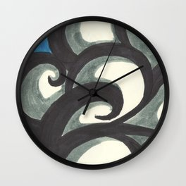 Cloud Window Wall Clock