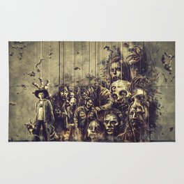 The Walking Dead Rug