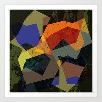 abstract  / 045 Art Print