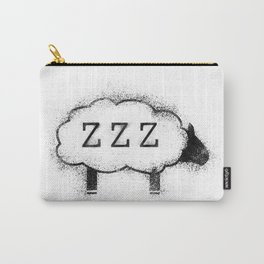ZZZ Sheep - Distressed Carry-All Pouch