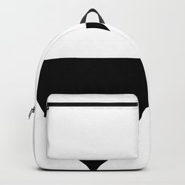 Black triangle Backpack