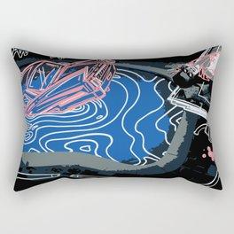 Pastel Pink Death of a Bachelor Rectangular Pillow