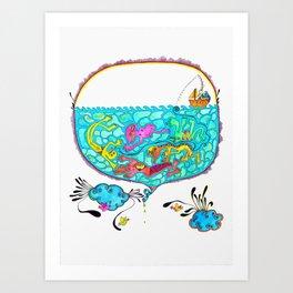 Pesca Milagrosa Art Print