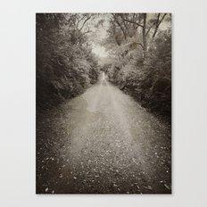 till the end Canvas Print