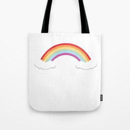 No Thanks I'm Good Graphic Rainbow Funny T-shirt Tote Bag