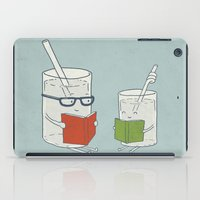 reading iPad Cases featuring Reading Glasses by Phil Jones