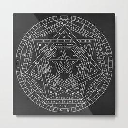 Sigillum Dei Aemeth Metal Print