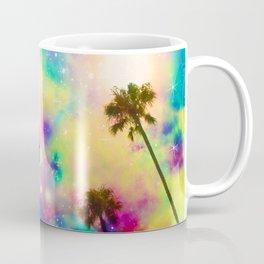 Pastel beauty palms Coffee Mug