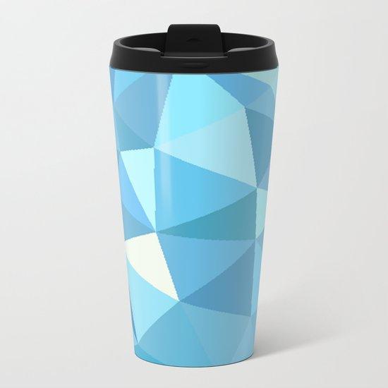 Blue Metal Travel Mug