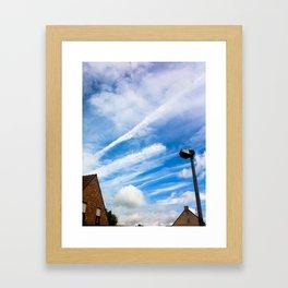 Sky III Framed Art Print