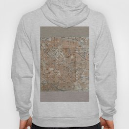 Milan, Italy / Milano, Italia antique map Hoody