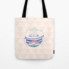 summertime cat Tote Bag