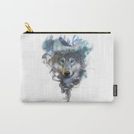 Wolf - Spirit Animal Carry-All Pouch