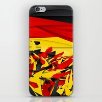 germany iPhone & iPod Skins featuring Germany by Danny Ivan