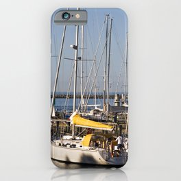 Sailing Boats on the Baltic Sea iPhone Case