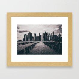newYORK Framed Art Print