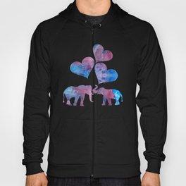 Elephants art Hoody