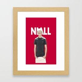 One Direction - Niall Horan Framed Art Print