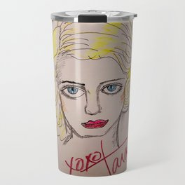 Bette Davis Eyes Travel Mug