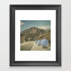 road work Framed Art Print