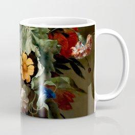 """Rachel Ruysch """"Still-Life with Flowers"""" Coffee Mug"""
