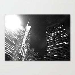 Bright Lights, Big City Canvas Print