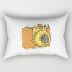 So Analog Rectangular Pillow
