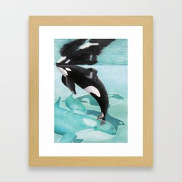 Just A Memory Framed Art Print