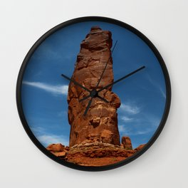 Marvelous Sandstone Formation Wall Clock